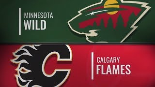 Minnesota Wild vs Calgary Flames | Dec.06, 2018 NHL | Game Highlights | Обзор матча