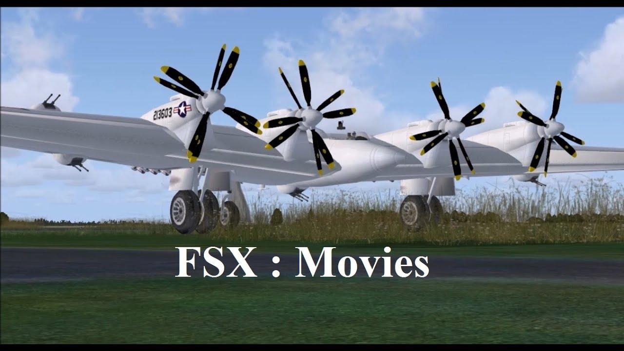 FSX : Northrop XB-35 Flying Wing
