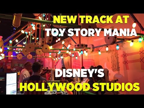 Third track added to Toy Story Midway Mania at Disney's Hollywood Studios