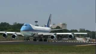 Air Force One Takeoff from Hartsfield-Jackson