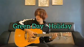 "New rendition of ""Holiday"" By Green Day. Arranged and played by me. #greenday Guitar: Blueridge BR-160CE Recording apps: Garageband Follow My Twitter: ..."