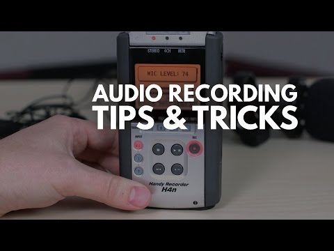 Audio Recording Tips: How to Record Great Audio and Get Proper Levels