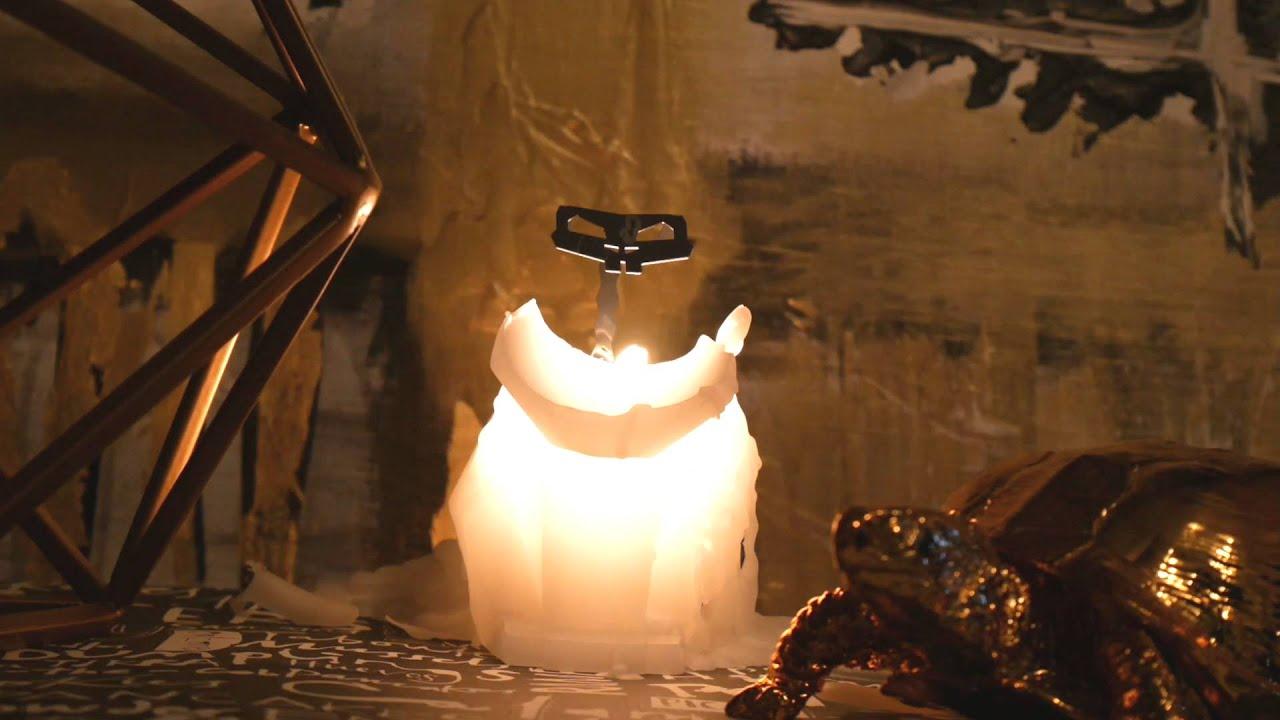 Pyro Pet Bunny Rabbit Hoppe Peach Candle Burn Timelapse