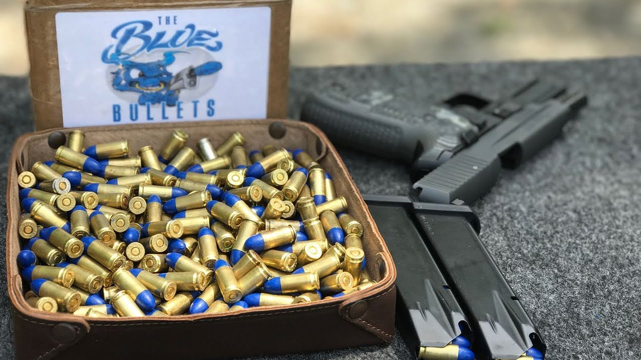 Blue Bullet Accuracy Test