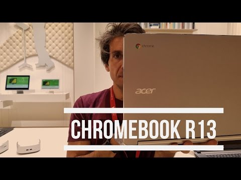 Acer Chromebook R13 con Play Store | Anteprima IFA 2016