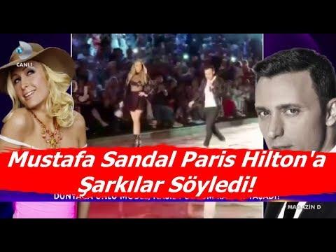 Paris Hilton'a Mustafa Sandal  Şarkılar Söyledi! - Magazin Haberleri