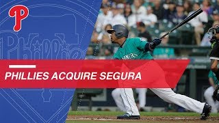 Phillies acquire Jean Segura from the Mariners