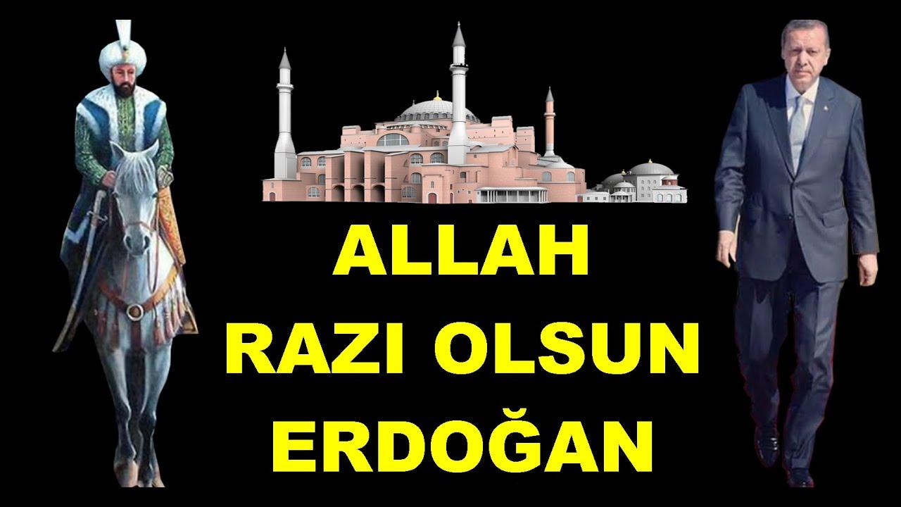 Elhamdülillah Ayasofya Camii Oldu İlk Ezan Okundu Müslümanlar Ağladı! Allah Razı Olsun Erdoğan