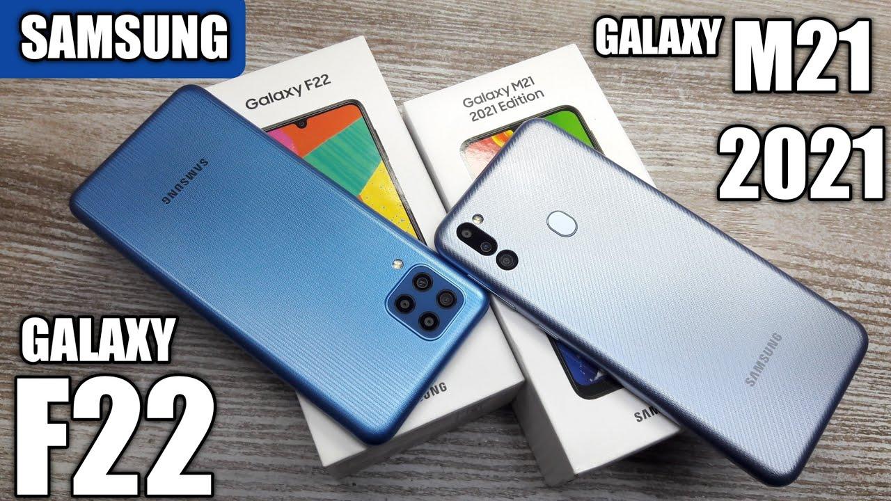 Galaxy M21 2021 vs Galaxy F22 - Which Should You Buy ?