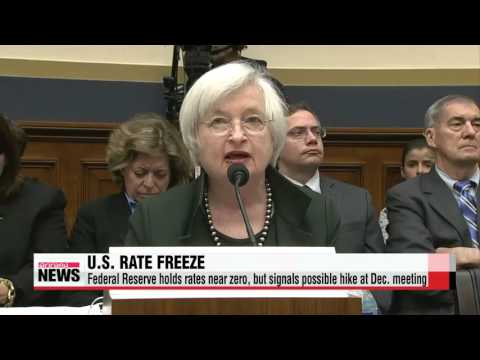 Federal Reserve holds rates near zero, but signals possible hike at Dec. meeting