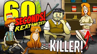 Did Dolores Kill Our Neighbours? - A New 60 Seconds Game - 60 Seconds Reatomized Gameplay