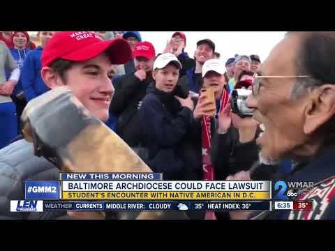 Baltimore Archdiocese could face legal action following teen and Native American video comments