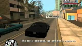 GTA San Andreas (How To Obtain an Elegant with a Special Number Plate) No Cheats