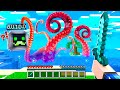 Fighting The KRAKEN Monster In Minecraft! The STRONGEST Mob EVER!? - Minecraft Mods Gameplay