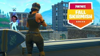Fighting Ghost Aydan and Nickmercs for Tilted Towers in Fortnite Fall Skirmish