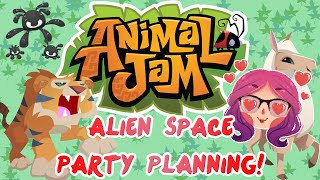 Animal Jam | Alien Space Party Planing! [8] | Mousie