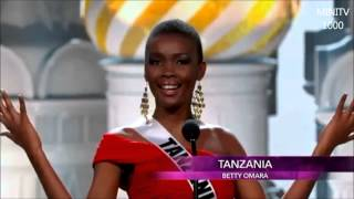 Funny Introduction of Miss Universe 2013 Contestants