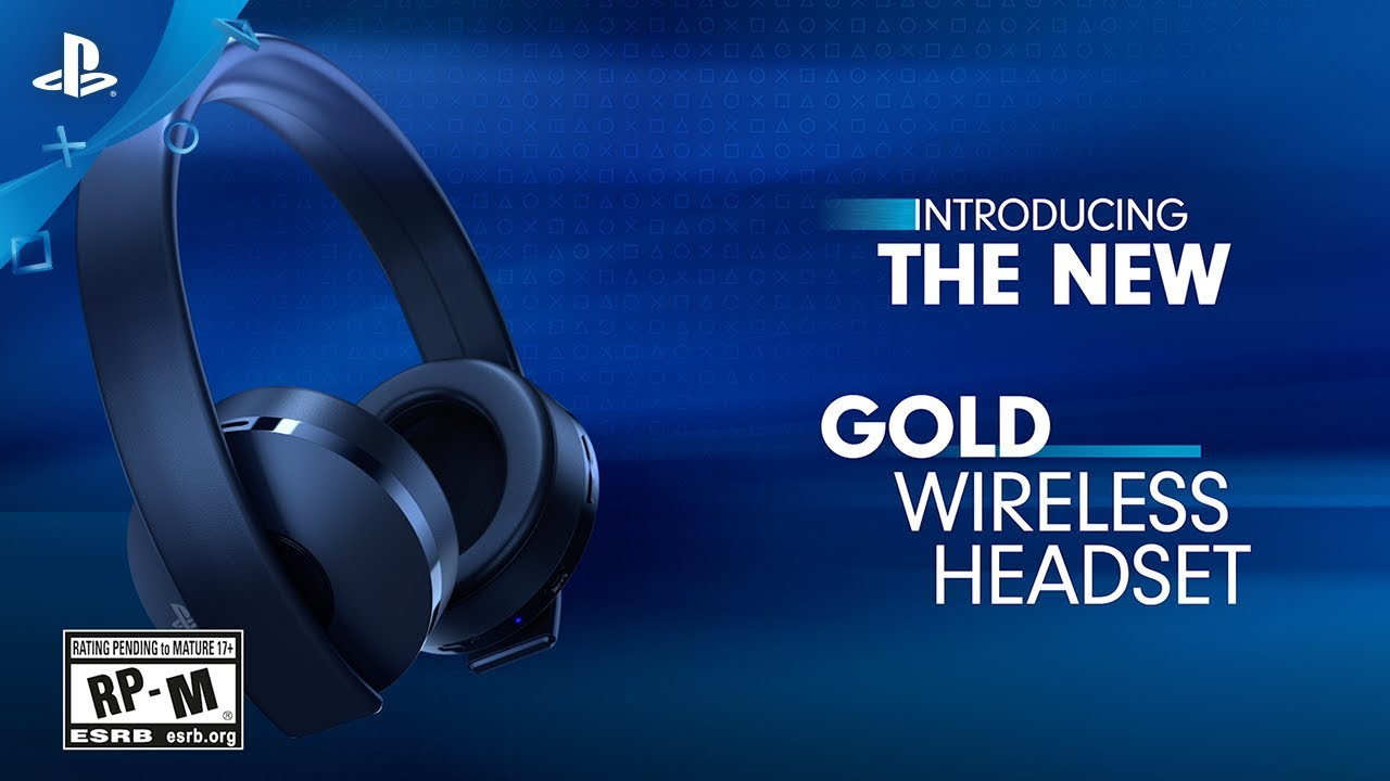 New Gold Wireless Headset - Launch Video | PS4, PS VR