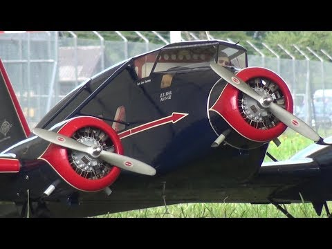 RC SCALE MODEL AIRCRAFT STINSON A1 TRI MOTOR WORLD CHAMPIONSHIP