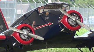 RC SCALE MODEL AIRCRAFT STINSON A1 TRI MOTOR WORLD CHAMPIONSHIP
