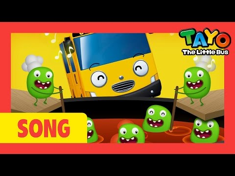 Tayo Song Pease Porridge Hot l Nursery Rhymes l Tayo the Little Bus