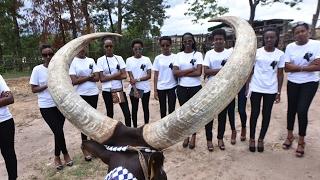 MISS RWANDA 2017 CONTESTANTS VISIT KING'S PALACE
