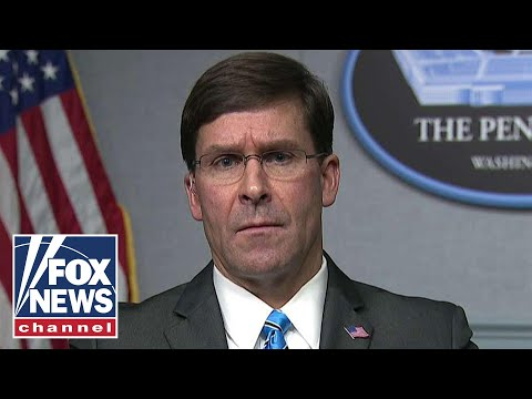 Esper: Iran will face 'severe response' if U.S. is challenged