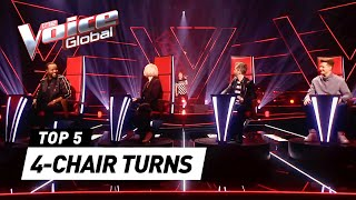INSTANT 4-CHAIR TURNS in The Voice