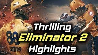 Thrilling Highlights Ever Of PSL - Eliminator 2 - Karachi Kings Vs Peshawar Zalmi   HBL PSL 2018