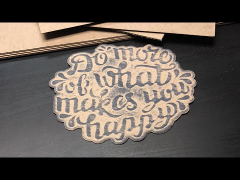 Embossing on Surface Board and New Dies!