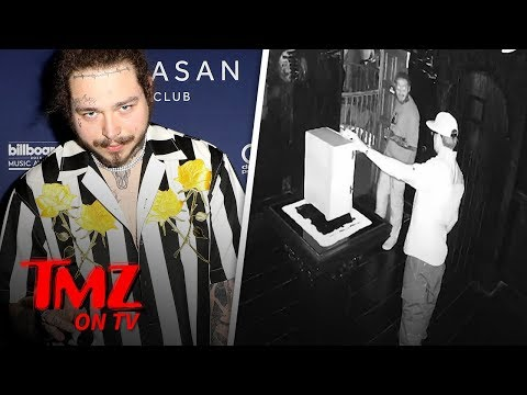 Post Malone Messing with World's Most Haunted Object | TMZ TV