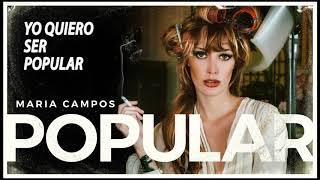 Popular - Maria Campos (LYRIC VIDEO)