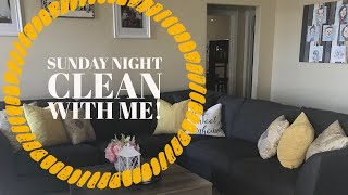After Dark Cleaning   Sunday Night Clean with me