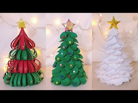 Christmas Tree Ornaments Easy Crafts Ideas At Home Diy Handmade