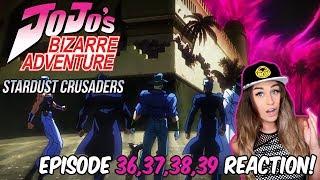 DESTINATION DIO! JoJo's Bizarre Adventure: STARDUST CRUSADERS Episode 36, 37, 38, 39 REACTION!