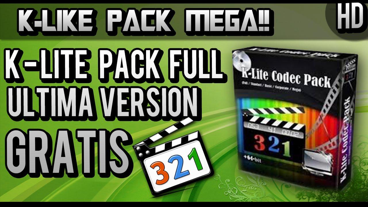 K lite codec pack 3.4 7 with full crack 2017 windows