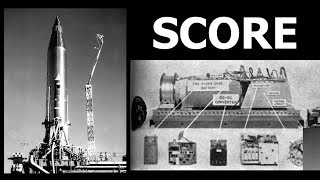 SCORE - The Worlds First Communications Satellite... (if you squint while looking at it)