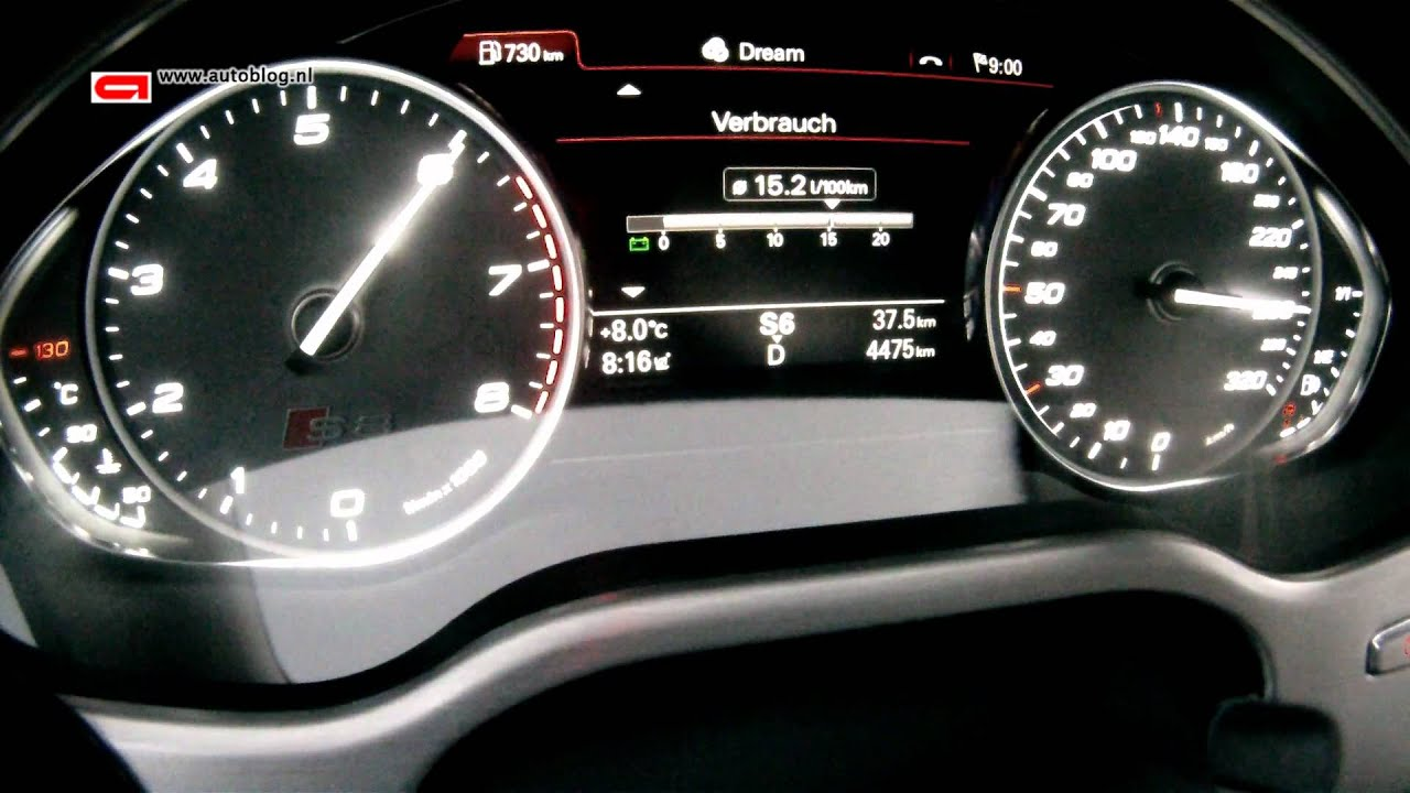 New Audi S8 (2012) topspeed - YouTube
