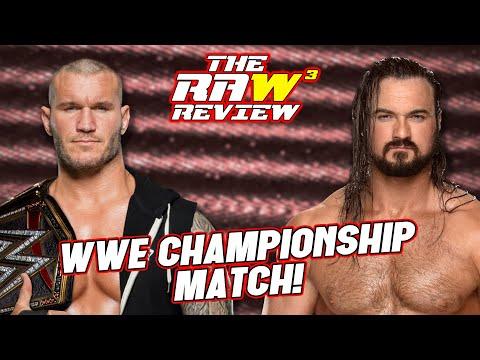 Orton vs. McIntyre, WWE Championship! | The Raw Review (November 16, 2020)