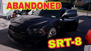 Wrecked ABANDONED Charger SRT8 disassembly repair part 2