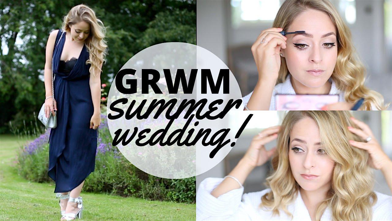 grwm summer wedding 2016 fleur de force youtube. Black Bedroom Furniture Sets. Home Design Ideas