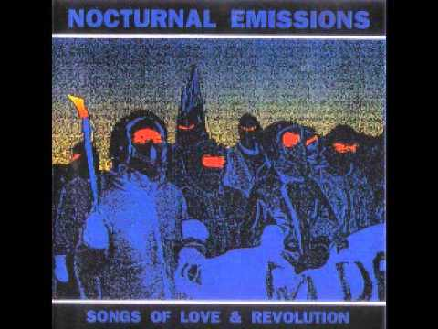 NOCTURNAL EMISSIONS    songs of love and revolution LP 1985