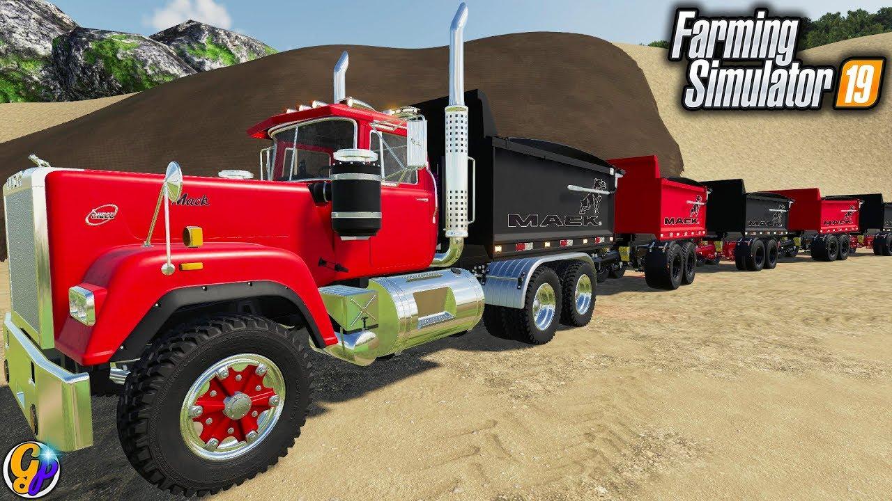 FS19- MINING EQUIPMENT TRANSPORTATION $250,000 MACK DUMP ...Kenworth Dump Trucks Fs19