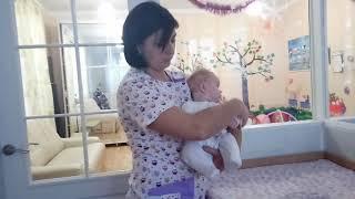 Как носить малыша на руках  Ребенок 0 3 месяца  Татьяна Труба