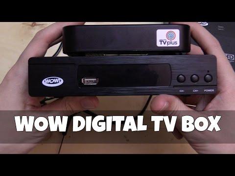 WOW Digital TV Box