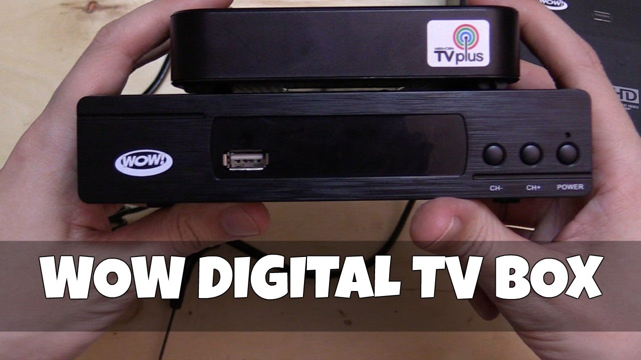 Wow Digital Tv Box Youtube