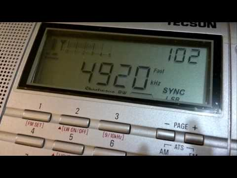 All India Radio (Chennai, Tamil Nadu, India) - 4920 kHz