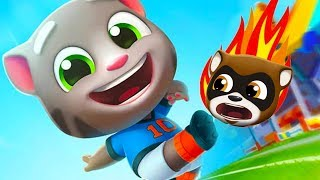 Talking Tom Gold Run New Update 2019 - Football Tom Vs the Robber - Outfit7 Limited Gameplay