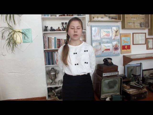 Изображение предпросмотра прочтения – АннаВолкова читает произведение «Лев и Барс» И.А.Крылова
