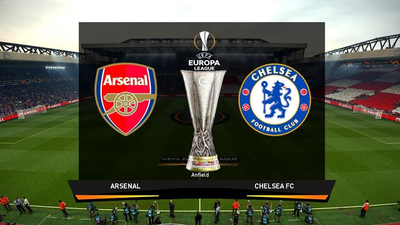 UEFA Europa League Final 2019 - ARSENAL vs CHELSEA - YouTube